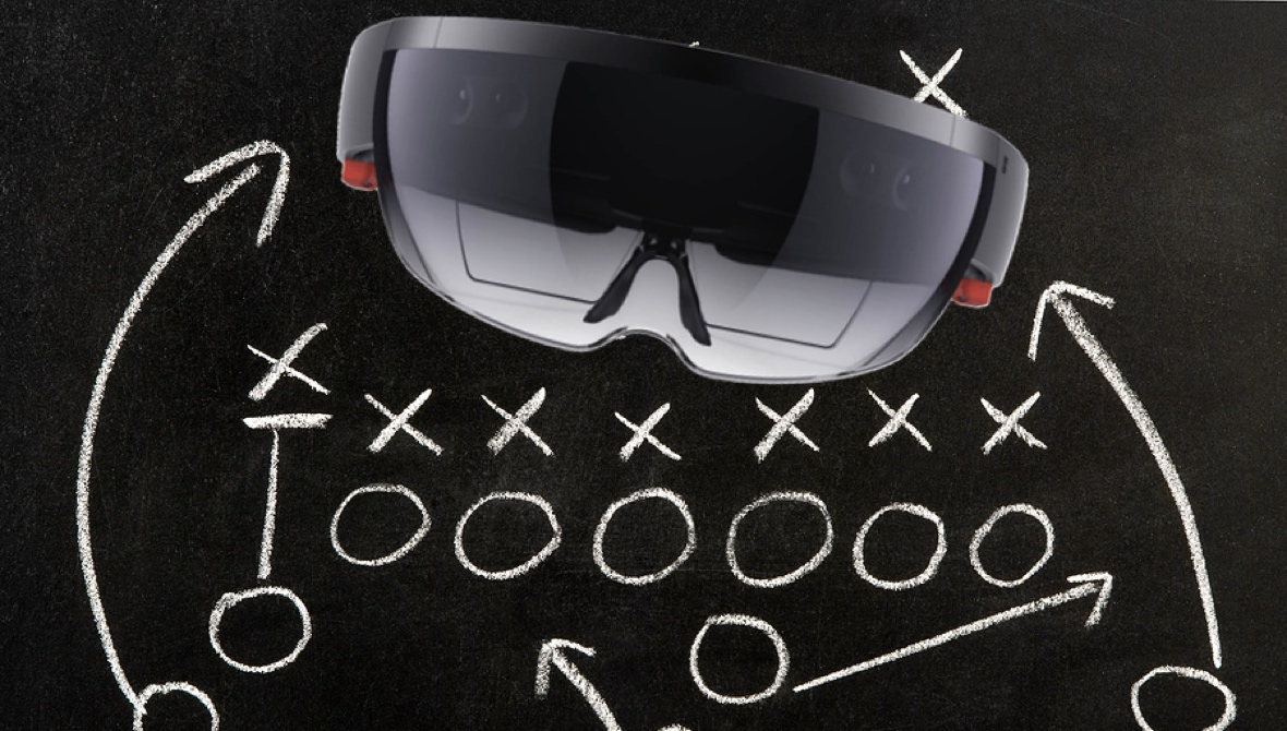 NFL's mixed reality playbook