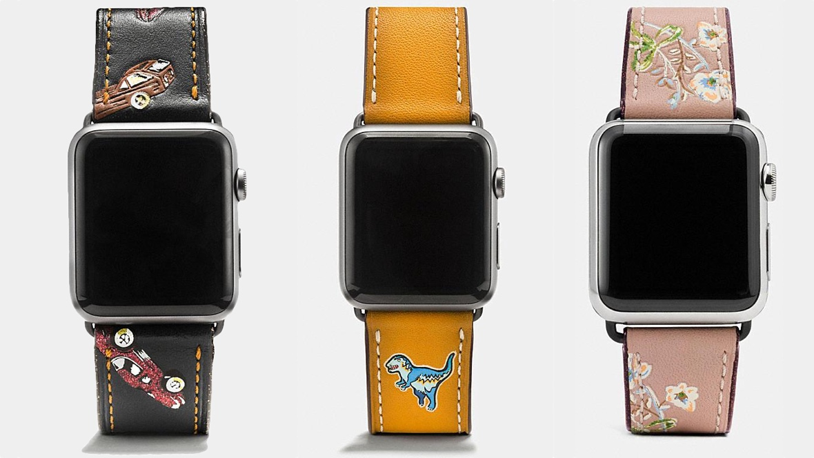 Coach reveals new Apple Watch bands