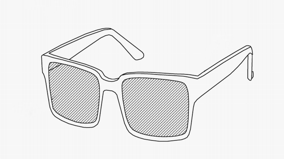 Facebook's new AR smartglasses patent