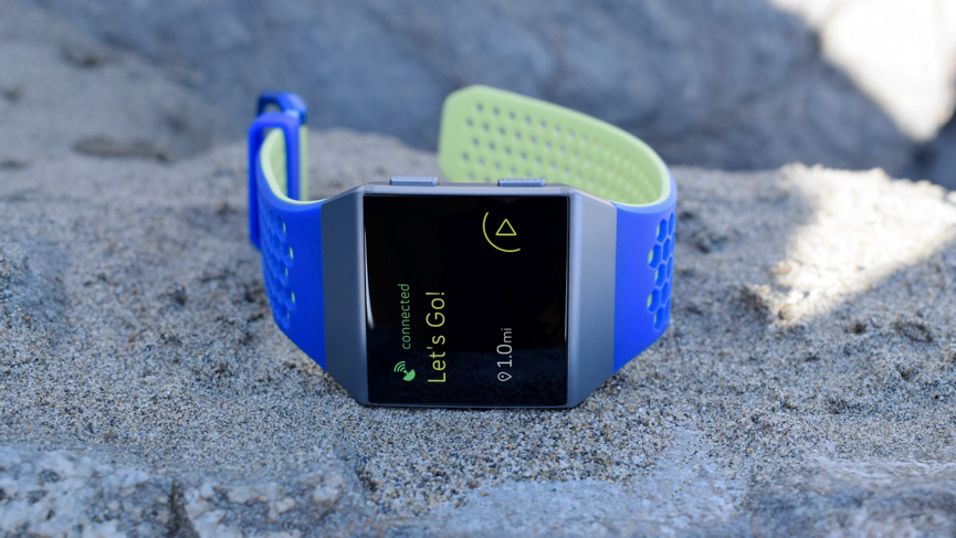 Fitbit Ionic to monitor glucose