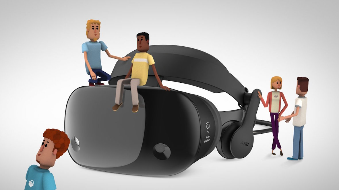 Microsoft makes a big social VR play