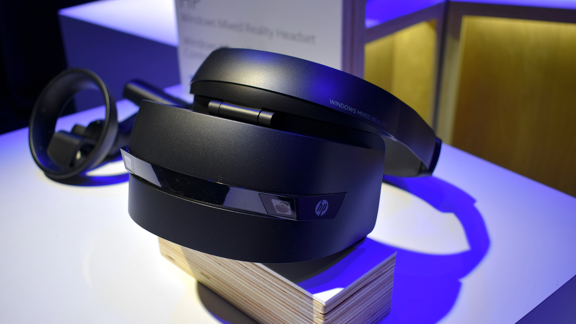 Eyes on: HP's Mixed Reality headset