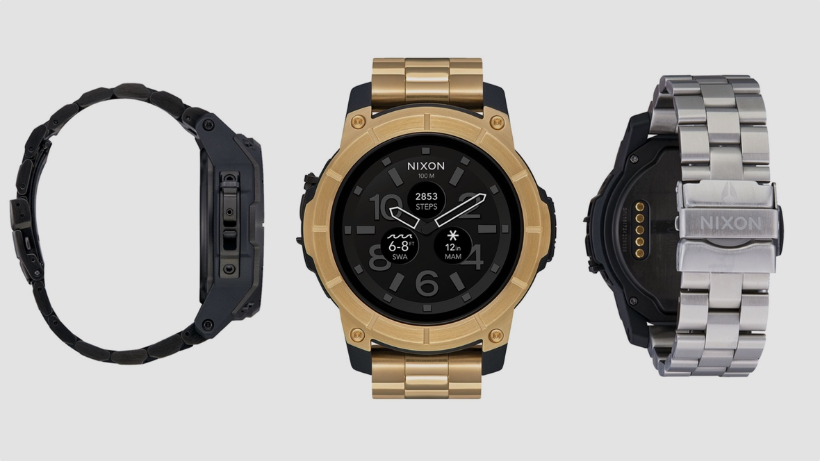 Nixon The Mission gets a steely refresh