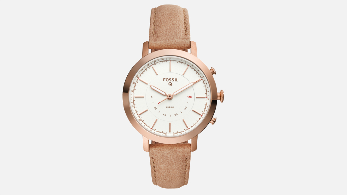 Fossil downsizes its hybrids for women