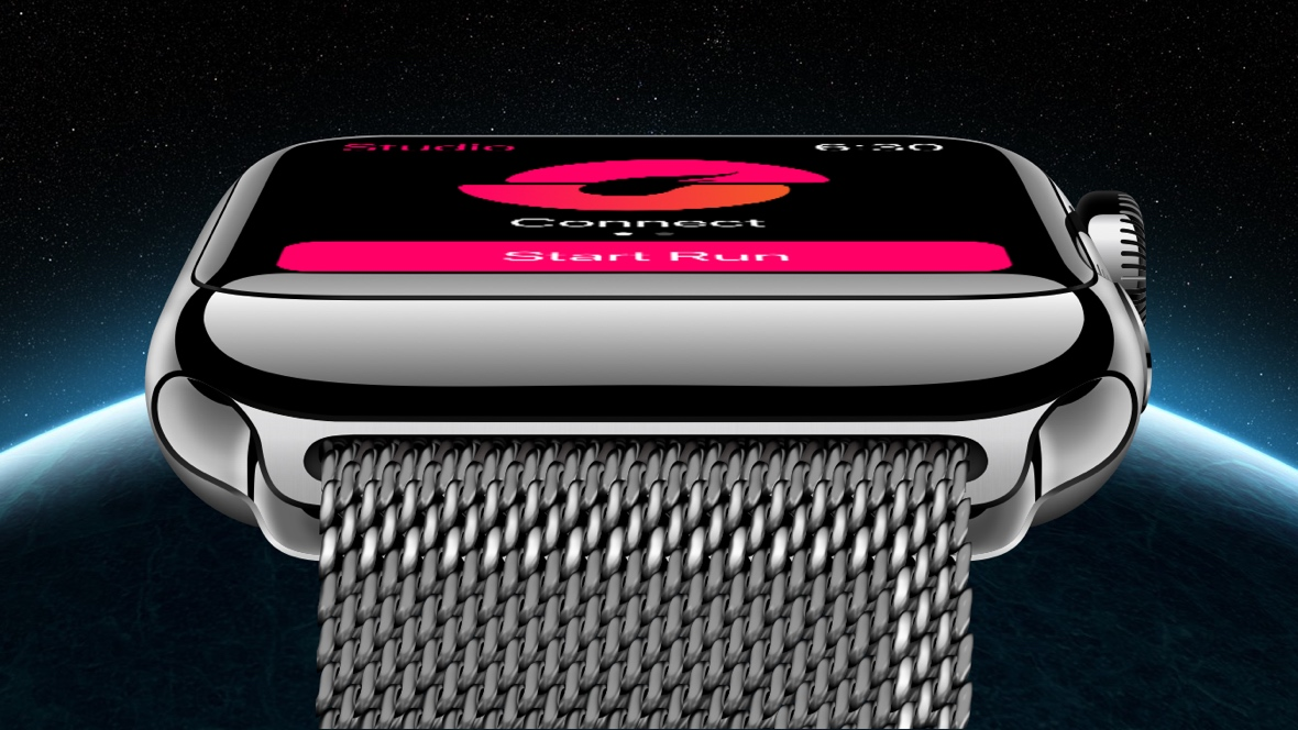 Studio steps up Apple Watch treadmill runs