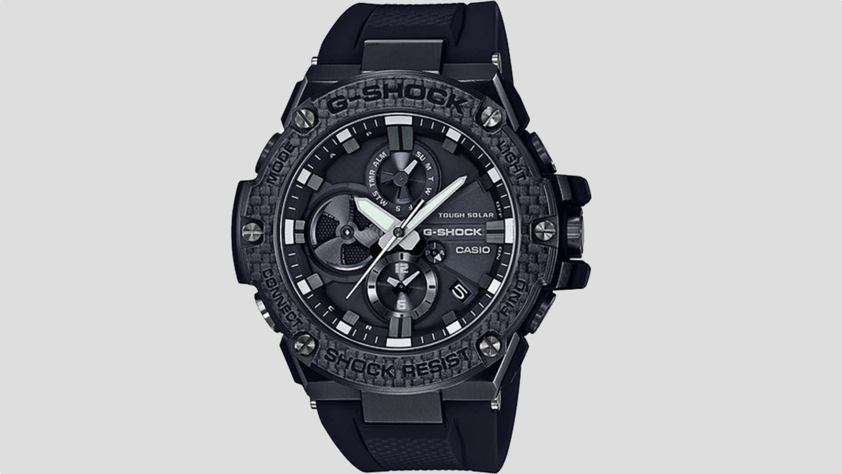 Casio's new hybrid G-Shock has bends time