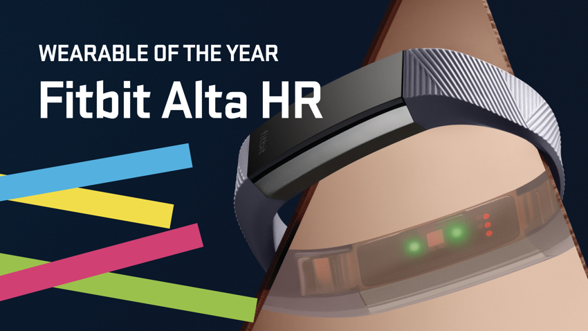 Fitbit Alta HR wins Wearable of the Year