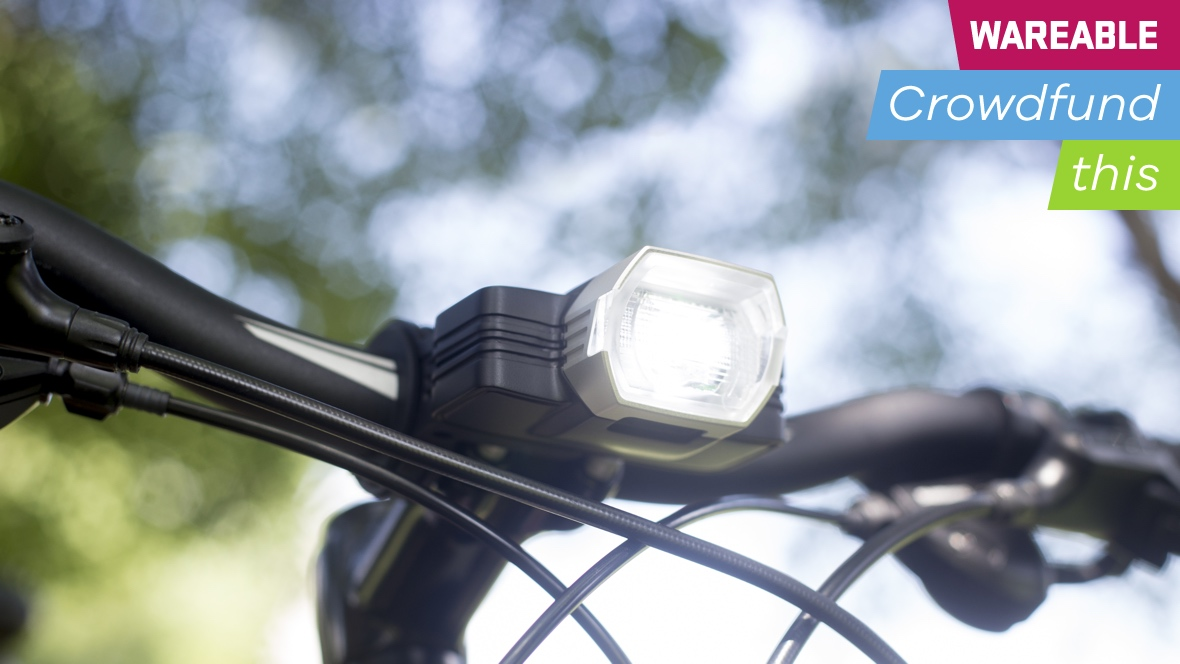 Binoreal's self-adjusting bike light