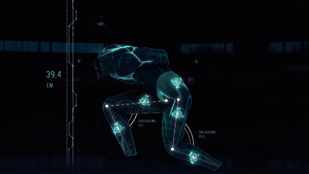 Samsung SmartSuit trains Olympic skaters