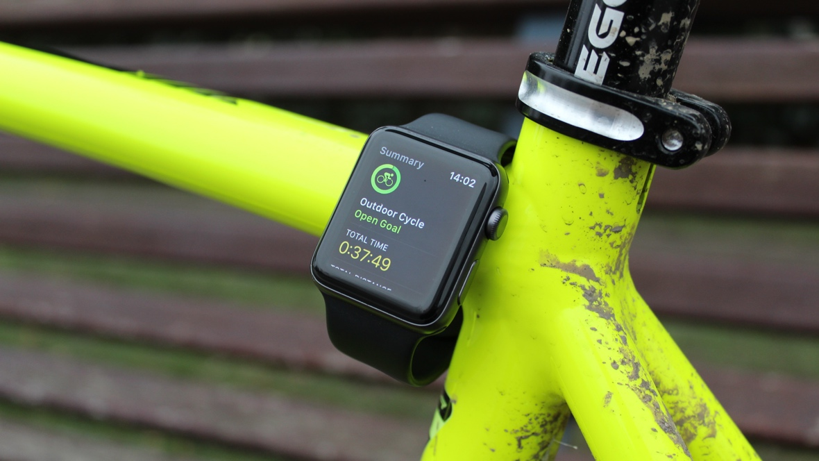 My cycling life with the Apple Watch