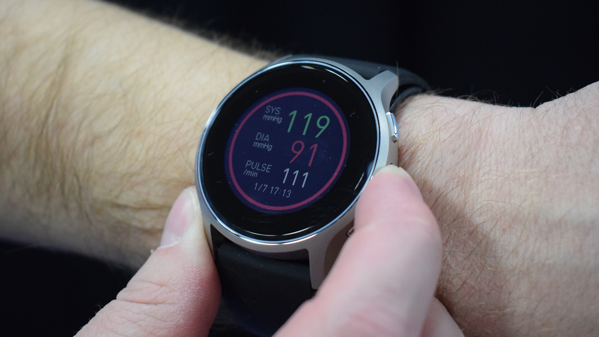 Omron readies blood pressure smartwatch