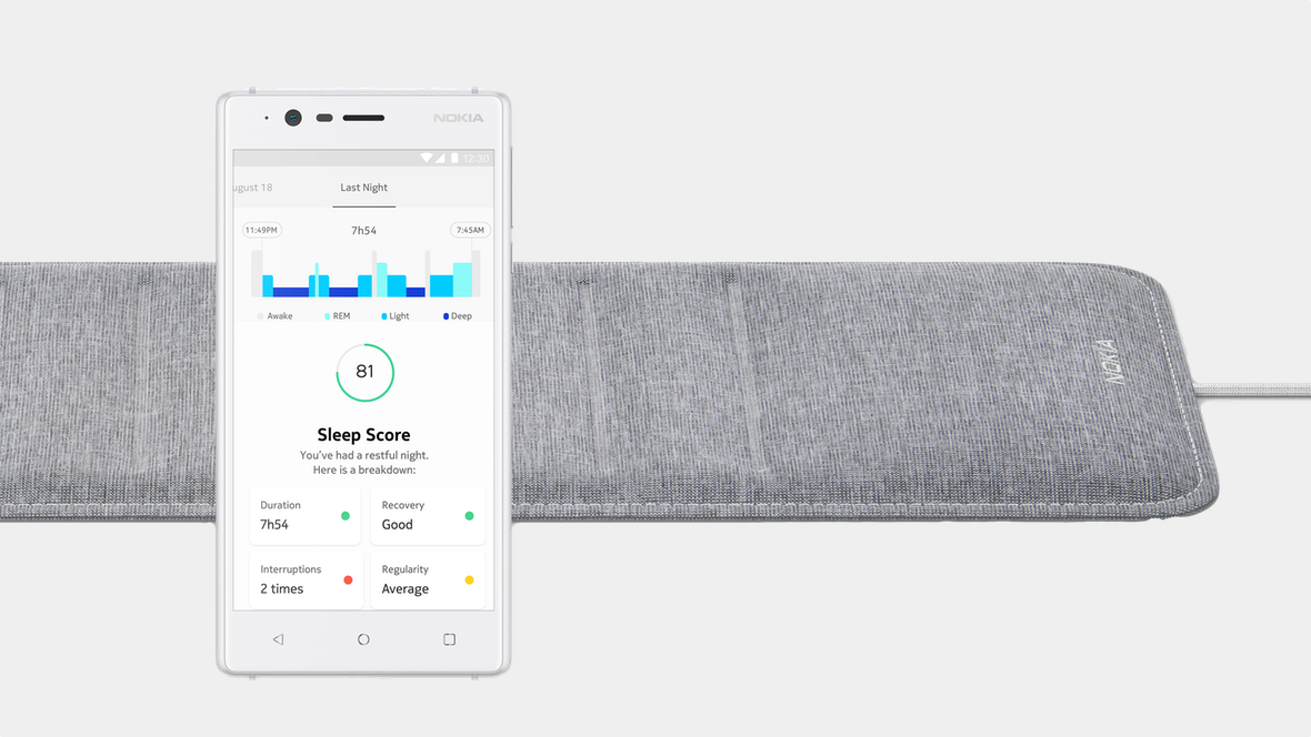 Nokia Sleep is here to track your zzz's