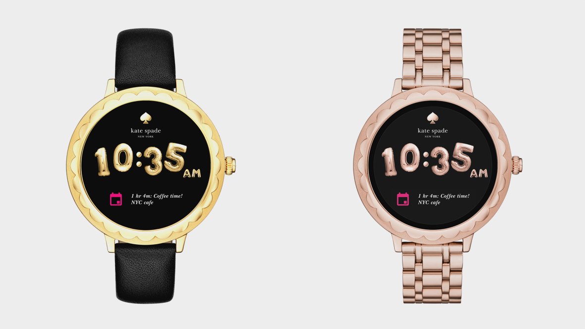 Kate Spade brings whimsy to Android Wear