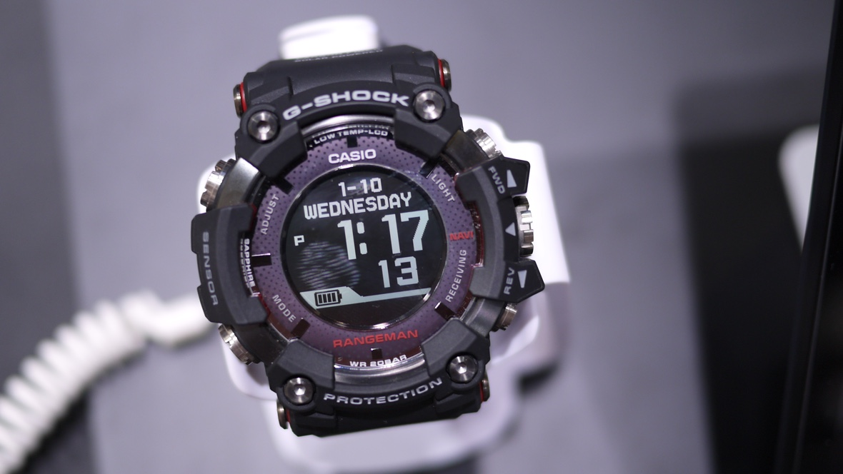 Casio shines with solar GPS watch