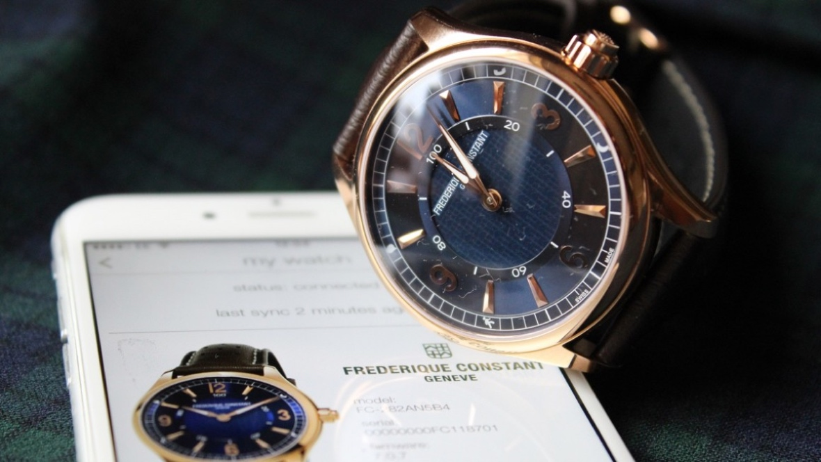 Frederique Constant teases full smartwatch