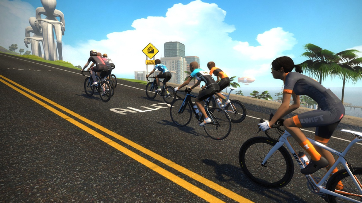 Zwift rides now sync with Strava challenges