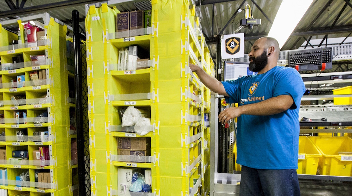 Amazon's employee trackers