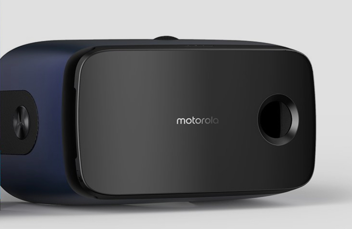 And finally: Motorola's VR headset