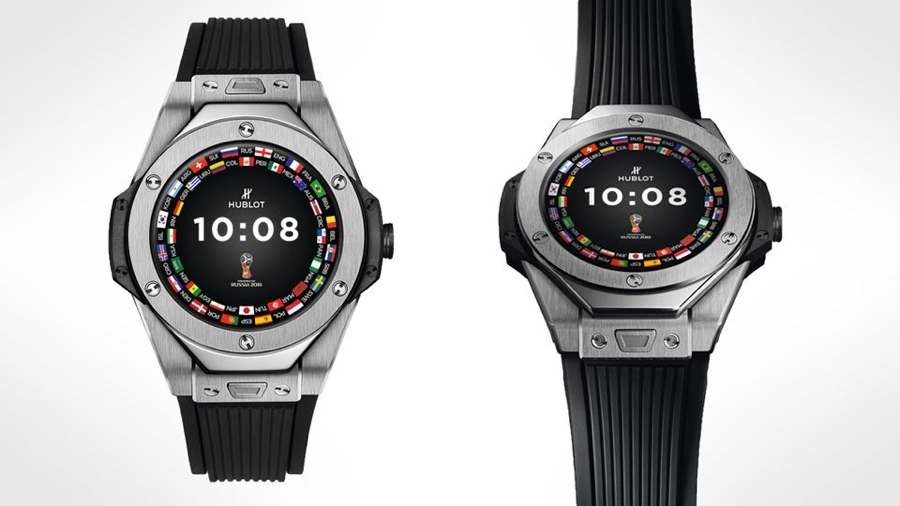 Hublot unveils its debut Wear smartwatch