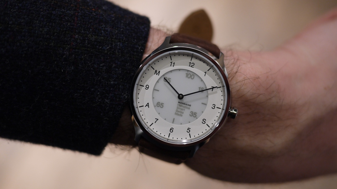 Mondaine's new smartwatch unveiled