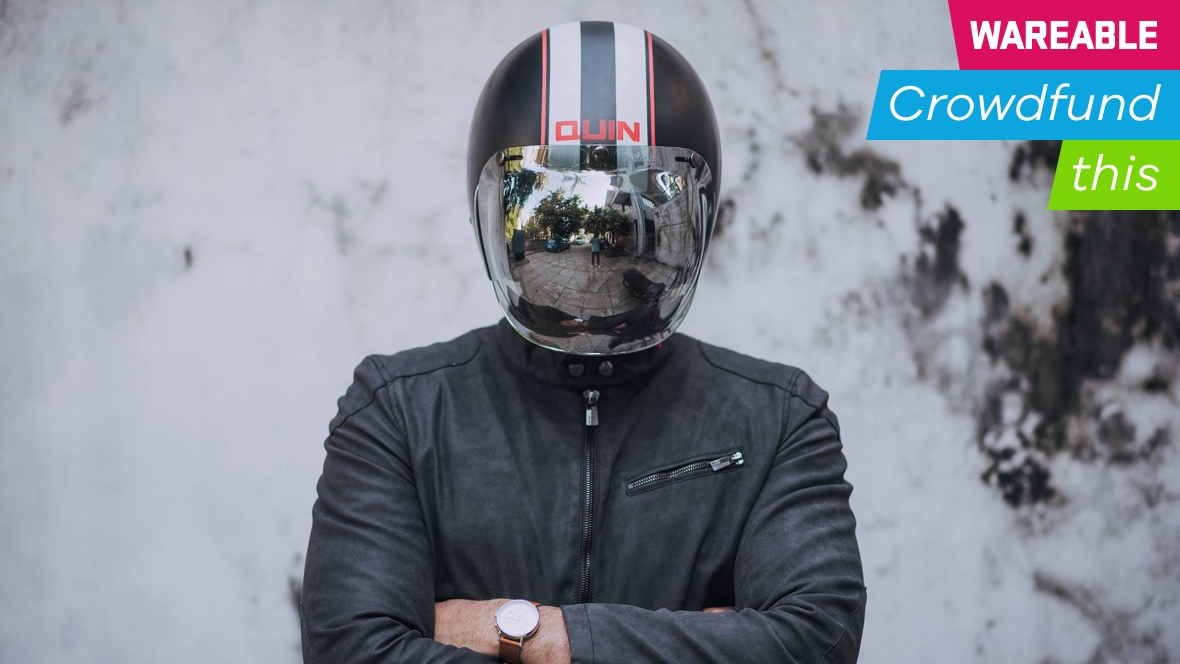 Quin's smart motorcycle helmet