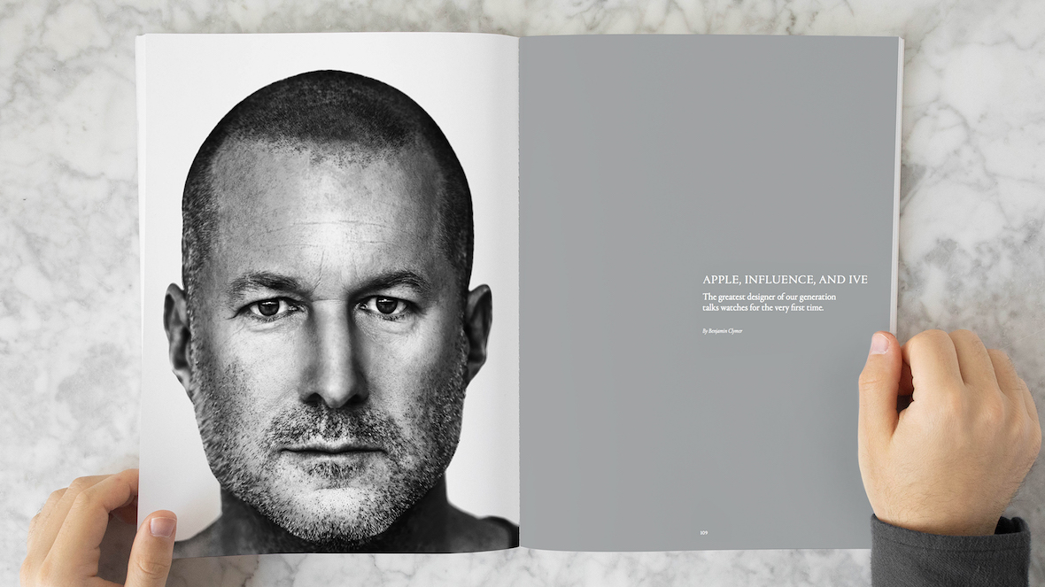 Jony Ive opens up about Apple Watch