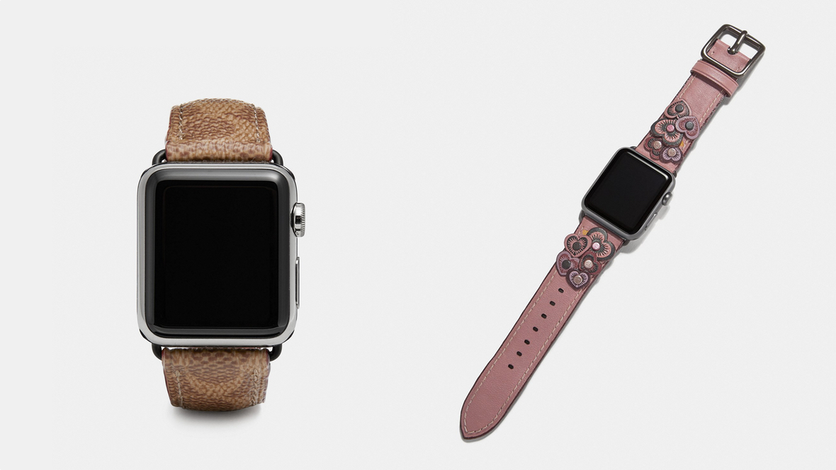 Coach refreshes Apple Watch band collection