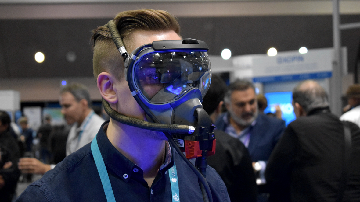 ODG's AR oxygen mask made to save lives