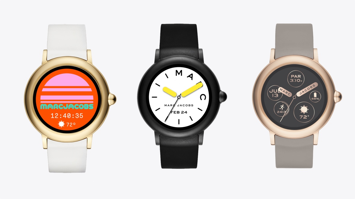 Marc Jacobs Riley Touchscreen Is The Designer S Fun First Wear Os Watch