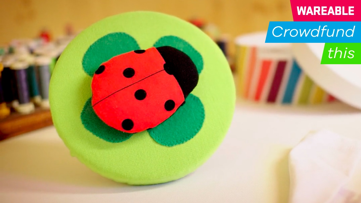 This ladybug tracks children's vitals