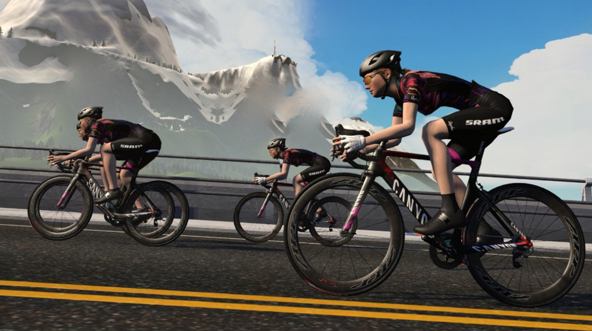 Zwift Academy helps riders turn pro