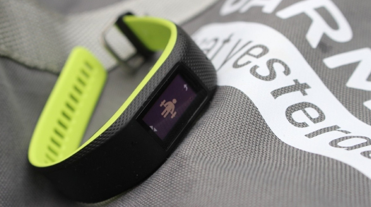 Garmin trackers to sync with Gold's Gym app