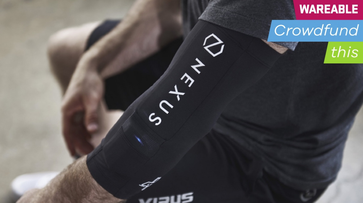 Nexus is a wearable for CrossFit