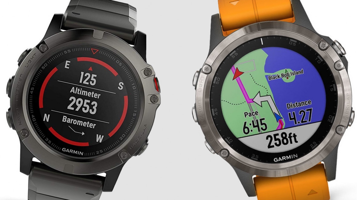 Garmin Fenix 5 v Fenix 5 Plus