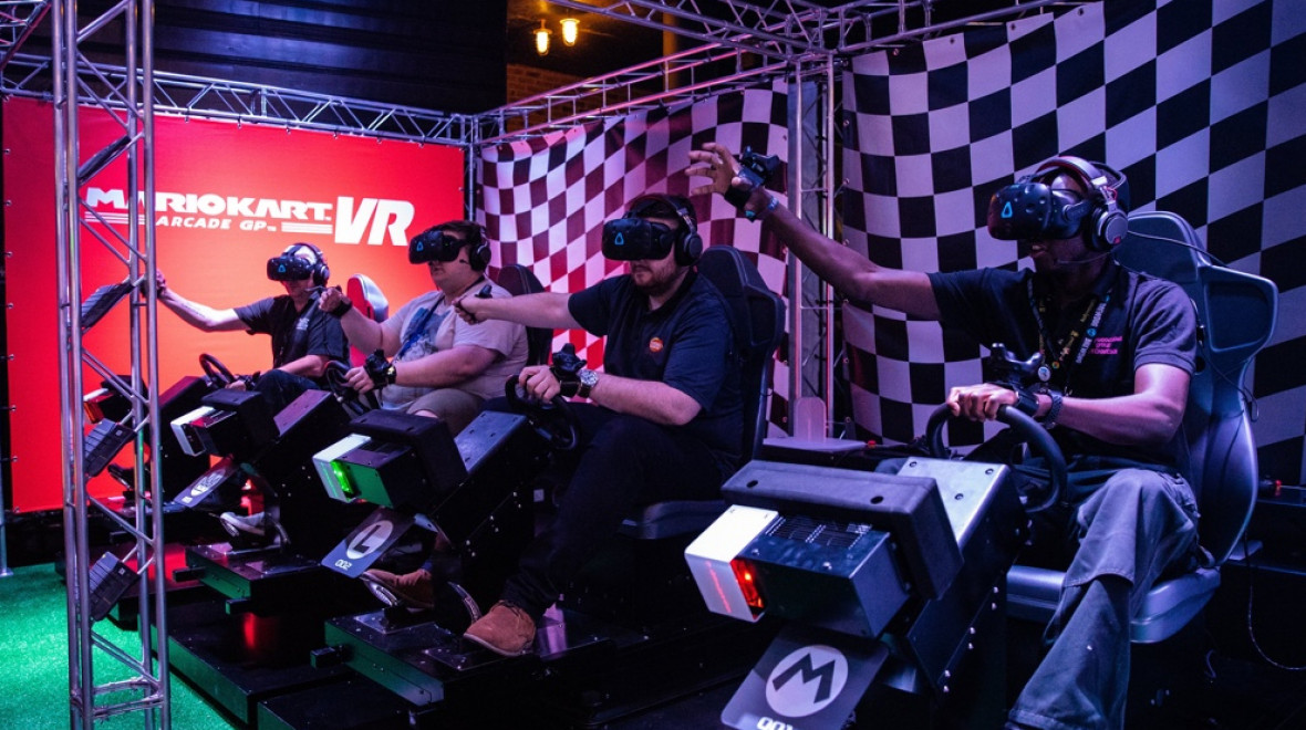 Mario Kart VR blew our minds