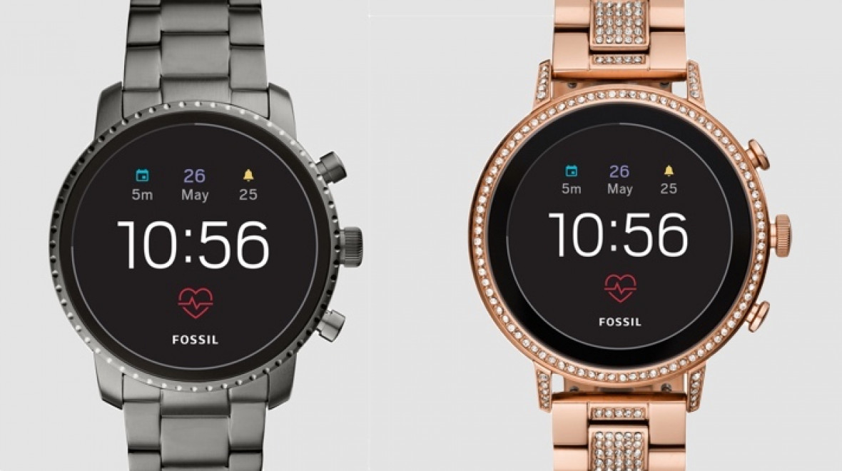 Fossil's new Wear watches bring HR and more