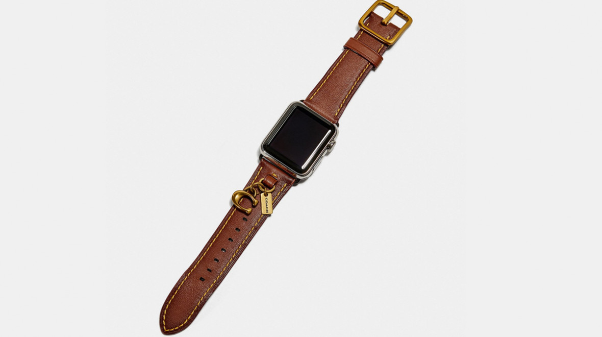 Coach drops a new Apple Watch band