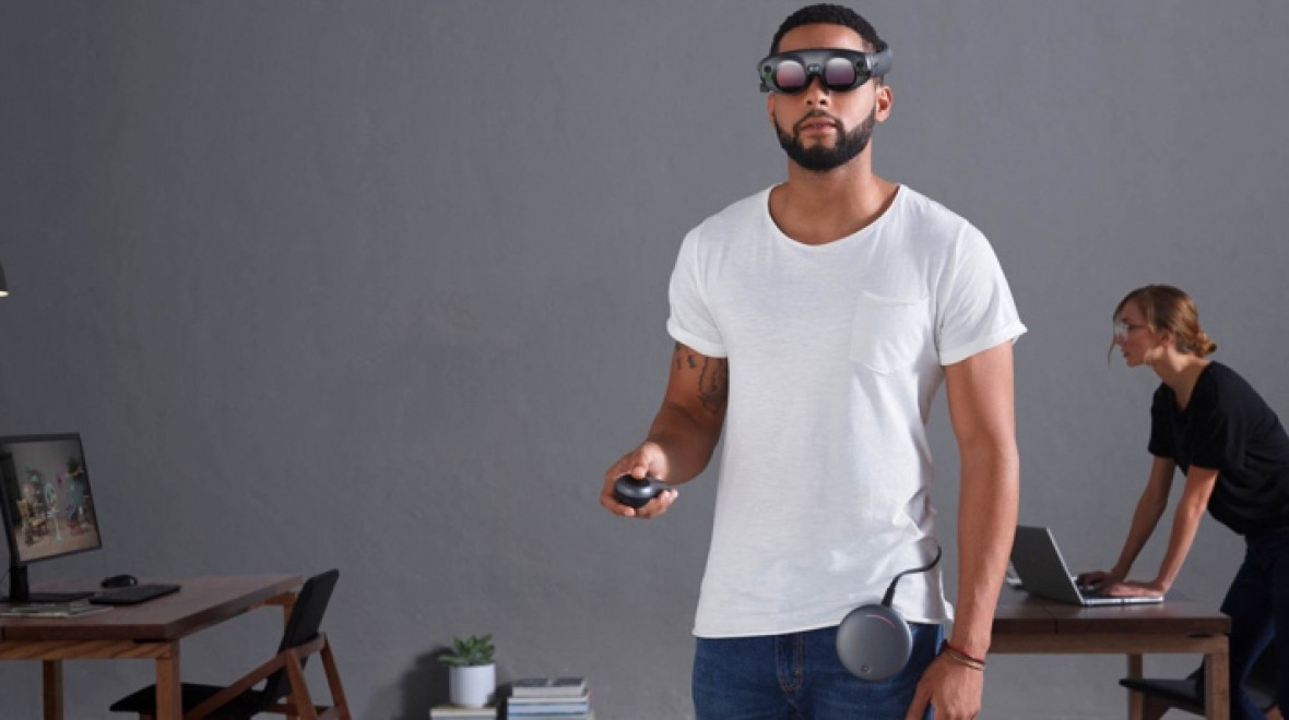 Magic Leap's mixed reality headset is finally on sale