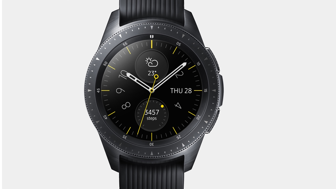 Samsung Galaxy Watch goes solo with seven-day battery life and 4G