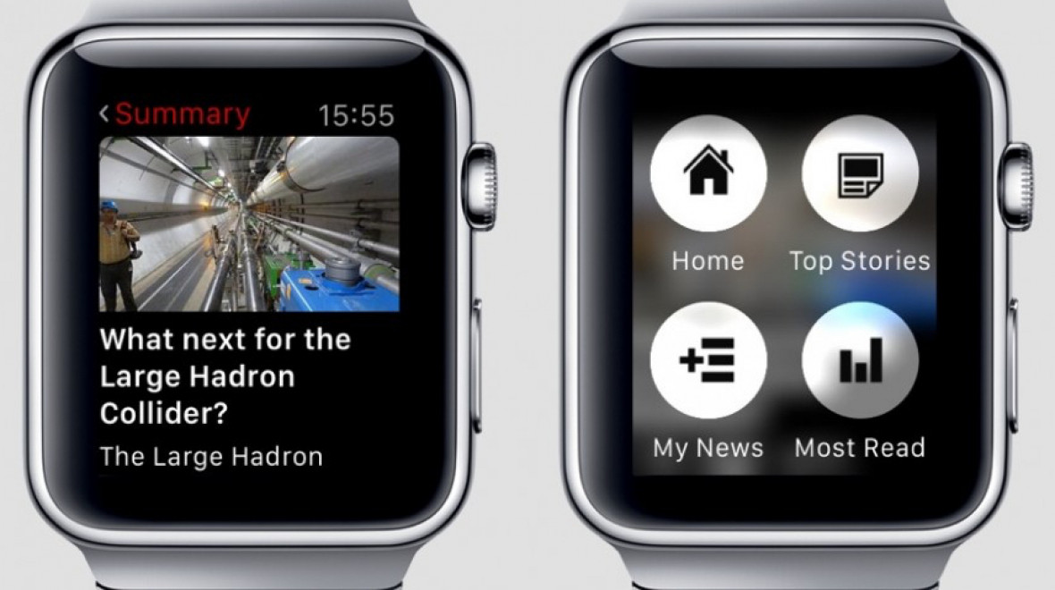 The BBC's speedy smartwatch news