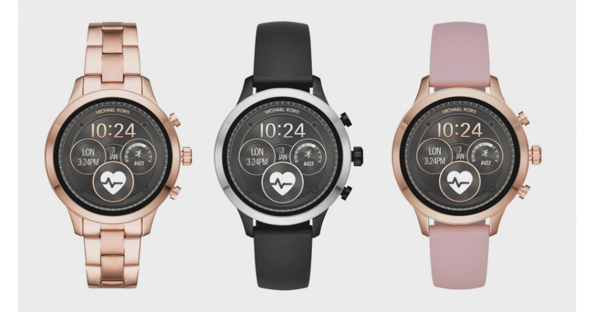 Michael Kors Access Runway adds GPS, heart rate and Google Pay