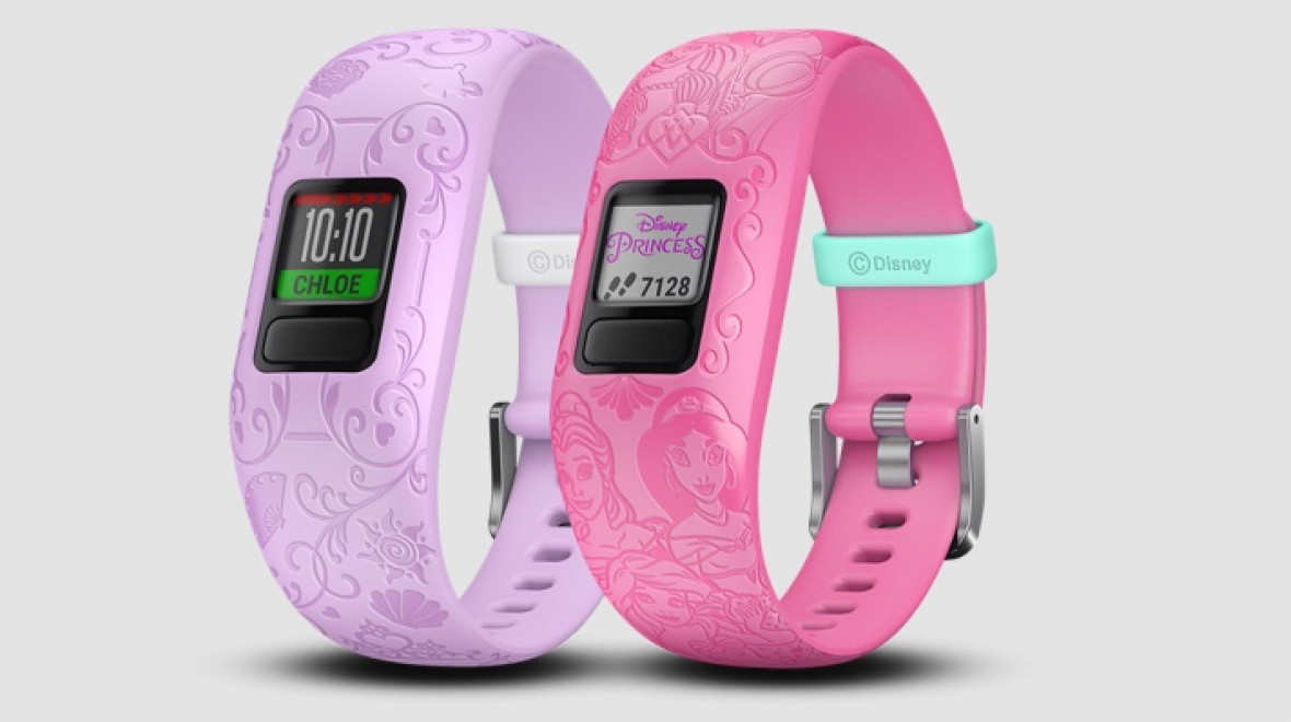 Garmin Vivofit jr 2 gets a princess makeover