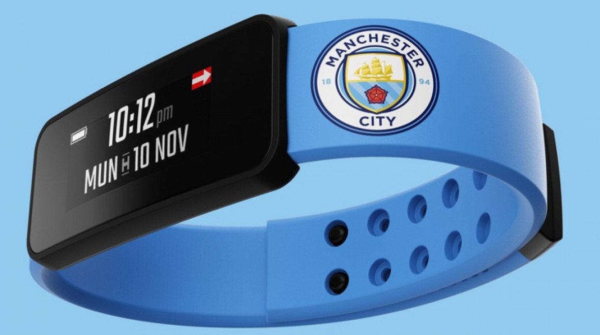 Fantom launches smart band for Man City fans