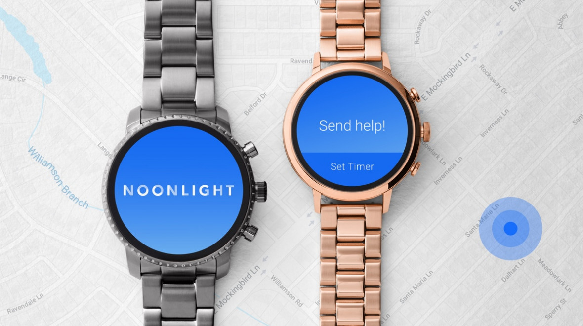 Fossil's latest watches get safety upgrade