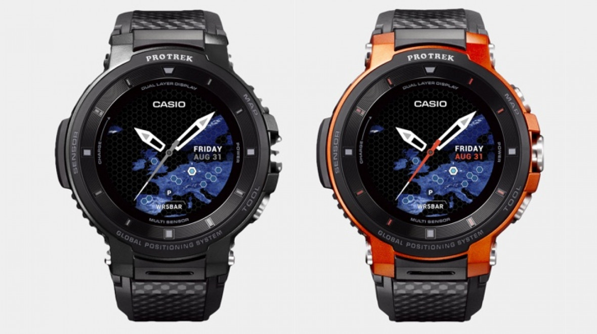 61b7a1ea9b9 Casio s new Pro Trek smartwatch gets bigger battery life and a new dual  display