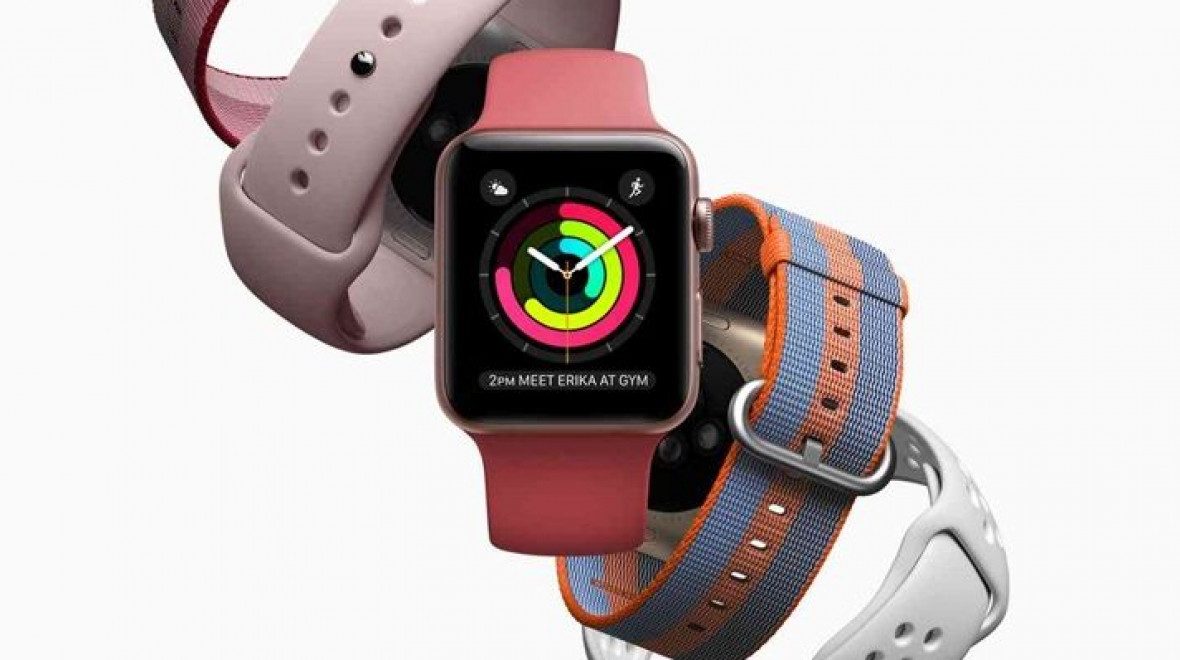 Apple is top of the wearable tech pile