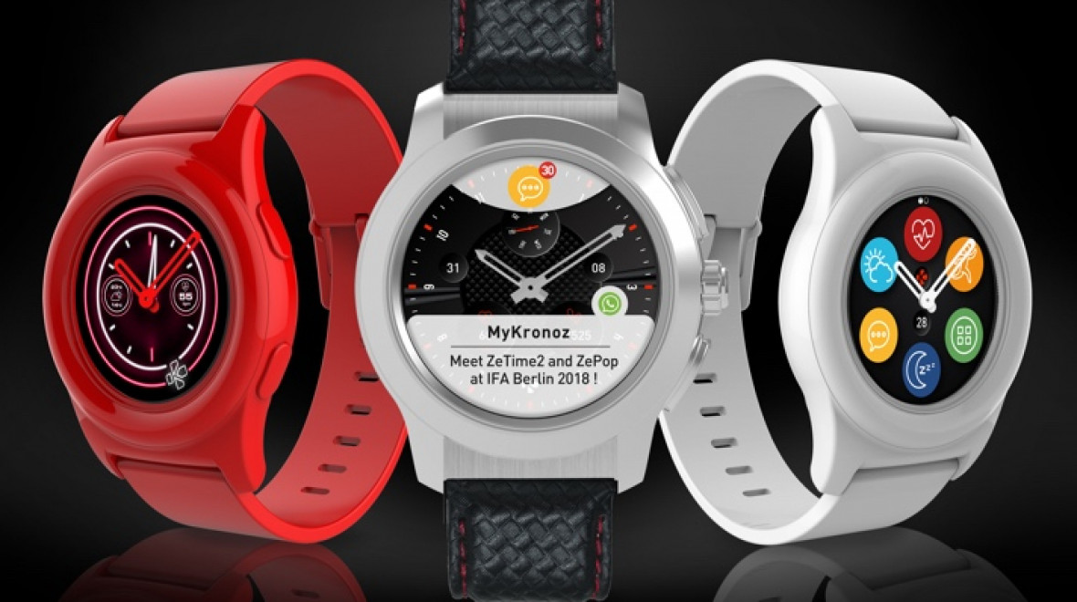 MyKronoz ZeTime 2 and ZePop unveiled