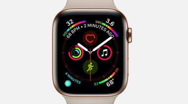 Apple Watch Series 4 gets a new look