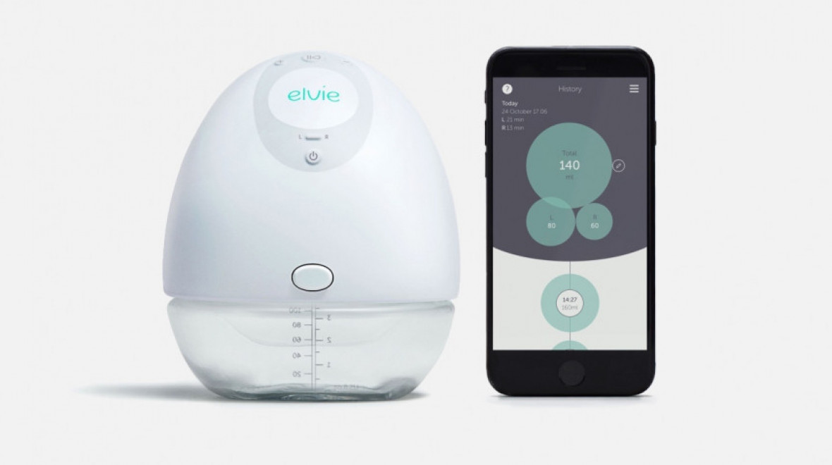 Elvie unveils silent breast pump for mothers