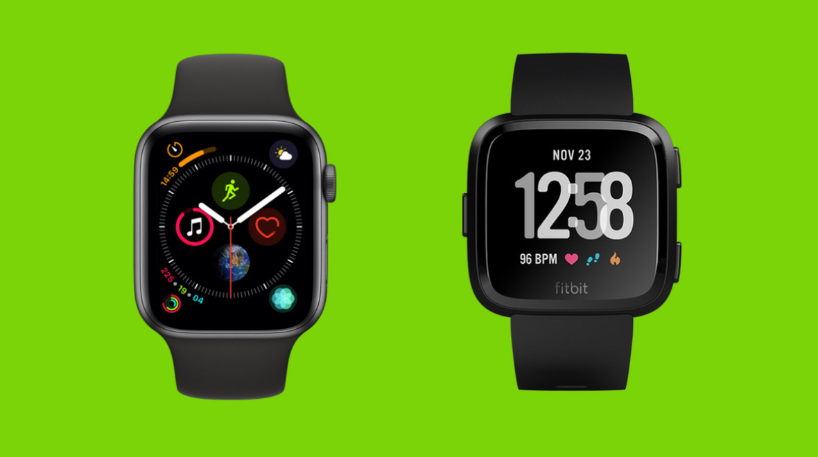 Apple Watch Series 4 v Fitbit Versa